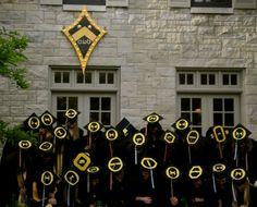 such a cute idea for graduation!