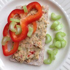 Kikertpostei m persille Vegan Recipes, Vegan Food, Risotto, Grains, Rice, Meals, Ethnic Recipes, Meal, Vegane Rezepte