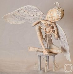 Art doll by Nadezhda Sokolova