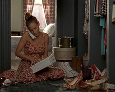Carrie Bradshaw Sex and the City Closet