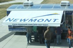 We did this awning for Newmont Mining Company.As seen on American Choppers ! American Chopper, Mining Company, Join Our Team, Cargo Trailers, Choppers, Pictures Of You, Consideration, Motorhome, Factors