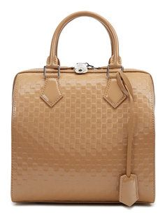 Limited Edition Camel Damier Facette Speedy Cube MM