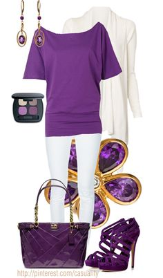"""""""Amethyst Inspired"""" by casuality on Polyvore"""