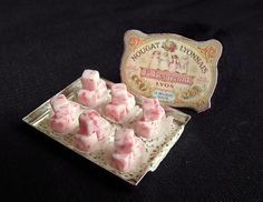 Tray of nougat by goddess of chocolate, via Flickr