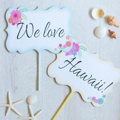 ハネムーンプロップス<br>【We love Hawaii !!】