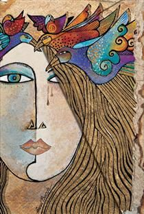 Soul and Tears (Paperblanks Design) - Laurel Burch