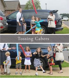 Wherever I Am: Party Time - Tossing Cabers