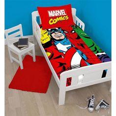 Parure de lit junior 120x150 cm Marvel Comics !