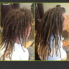 Before & After dreadlock maintenance. #caucasiandreads #caucasiandreadlocks #dreads #dreadlocks #hairllucinations #caucasiandreadlockmaintenance #georgiadreads #georgiadreadheads #atlantacaucasiandreadlocks #dreadsinsuwanee #dreadlockmaintenance #professionalcaucasiandreadlocks #dreadlocksalon