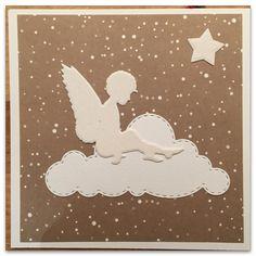 Advent Card (Angel Die & Paper: A. Renke / Cloud Die: Memory Box)