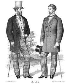 victorian mens fashion plates - Google Search