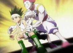 Gon, Killua, and Hisoka        ~Hunter X Hunter
