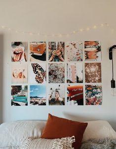 48 + Dorm Room Inspiration Decor Ideas 2 - Home Design Source by nayaradixon Cute Room Ideas, Cute Room Decor, Wall Decor, Diy Wall, Dormitory Room, Uni Room, Aesthetic Room Decor, College Dorm Rooms, College Apartments