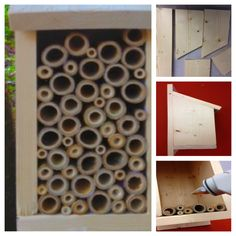 Did you know that bees pollinate nearly 1/3 of all the food we eat? Bring these important pollinators to your garden and help save them from disappearing with this cool Bee Box project!