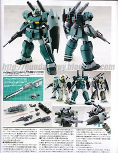 The RGC-83 GM Cannon II is a mobile suit from the anime OVA Mobile Suit Gundam 0083: Stardust...