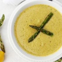 Grilled Asparagus Soup #recipe