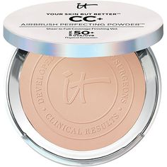 $35 It Cosmetics Your Skin But Better CC+ Airbrush Perfecting Powder SPF50+ Light