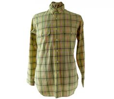 "90s Ralph Lauren shirt Features a pink, brown, green and yellow checked print #90sshirts #vintagefashion #vintage #retro #vintageclothing #90s #1990s #vintageshirts <link rel=""canonical"" href=""http://www.blue17.co.uk/>"