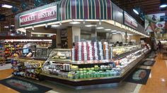 Market Place supermarket in Vancouver puts a premium on old-style counters.