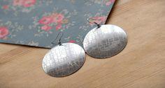 Geometric Disc Earrings – Earrings