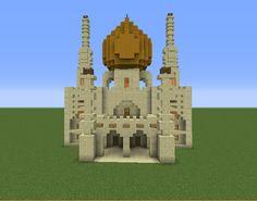 Arabic Desert Mosque - GrabCraft - Your number one source for MineCraft buildings, blueprints, tips, ideas, floorplans!