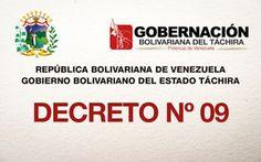 PROTECCIÒN CIVIL TÀCHIRA: Decreto 09 | miércoles 20 de enero – Día no Labora...