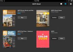 Online Interior Design HQ: HGTV Shelf App