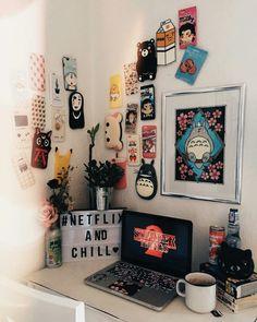 23 Clever DIY Christmas Decoration Ideas By Crafty Panda My Room, Girl Room, Ideas Decorar Habitacion, Kawaii Bedroom, Otaku Room, Cute Room Ideas, Gaming Room Setup, Gamer Room, Aesthetic Room Decor
