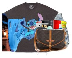"""""""Untitled #509"""" by destiny-madison ❤ liked on Polyvore featuring Disney and NIKE"""