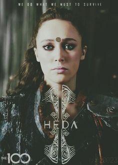 Commander Lexa - Heda - The 100