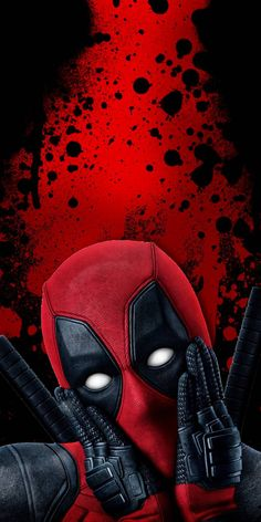 38 Wallpapers do Deadpool Marvel Deadpool Movie, Deadpool Art, Marvel Art, Marvel Heroes, Deadpool Wallpaper, Avengers Wallpaper, Deadpool Background, Deadpool Pictures, Deadpool Images