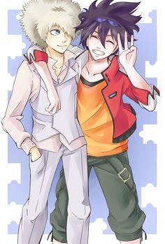 Phi Brain-Kaito and Rook
