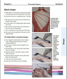 Ballgown Construction Manual Sewing Guide How by DanceSportSewing
