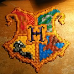 Hogwarts creat - Harry Potter hama beads by therealt1m8er