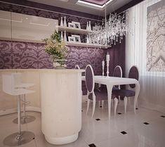 дизайн гостиной, кухни. Гостиная