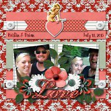 Somewhere in Time 1 12x12 Layout Templates