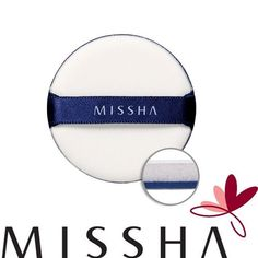 MISSHA Air in Puffs Make-up puff-4EA FREE SHIPPING Air Cushion Puff IOPE HERA #Missha