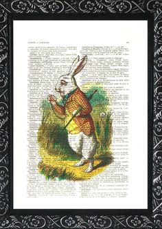 alice in wonderland white rabbit | ALICE in wonderland decorations ILLUSTRATION buy 2 get 1 print free ...https://www.facebook.com/pages/Down-The-Rabbit-Hole/193819684026265?hc_location=timeline