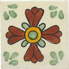 Green Seville - Ceramic Handcrafted Mexican Talavera Tile Decorative