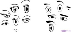 animated eyes to draw