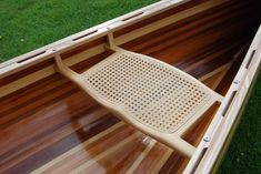 danish oil Photo: the colours look real good once several coats of danish oil are applied. This Photo was uploaded by STEVE_GRESTY Canoe Seats, Kayaking, Canoeing, Wood Canoe, Canoe And Kayak, Outdoor Recreation, Boat Building, Water Crafts, Wishbone Chair