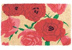 4. Rose Potpourri Doormat Almost too pretty to be trampled underfoot, Red C - The Independent