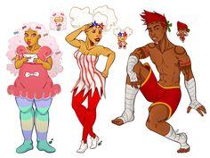 Cookie Run, Food Fantasy, Yandere Simulator, Cookies And Cream, Muay Thai, Animal Crossing, Bro, Character Inspiration, Video Games