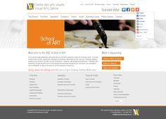 Organizations & Associations Website Portfolio by WSI Montreal Portfolio Website, Visual Arts, Art School, Centre, Photo Galleries, Organization, Fine Art, Getting Organized, Organisation