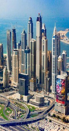 ʜᴏᴡ ʀɪᴄʜ ɪꜱ Dubai is one of the seven emirates in the United Arab Emirates, with the full name of the Emirate of Dubai, United Arab Emirates, and it is located in the Middle East. Dubai is a country built in the desert. Dubai Buildings, Famous Buildings, Amazing Buildings, Skyscrapers, Modern Buildings, Dubai City, Dubai Uae, Abaya Dubai, Visit Dubai