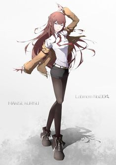 reddit: the front page of the internet Ashita No Nadja, Cute Girls, Cool Girl, Steins Gate 0, Kurisu Makise, Manga Anime, Anime Art, Double Image, Light Yagami