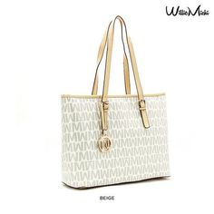 Willie Michi WYNN Boston Classic Shoulder Tote - Assorted Colors at 88% Savings off Retail!