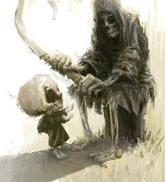 Father Death, Marco Bucci Art Collection