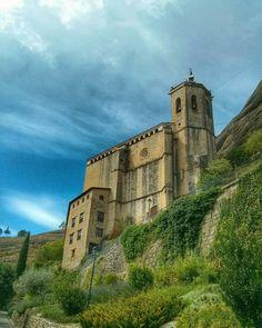 Basílica de la Virgen de la Peña #graus #huesca