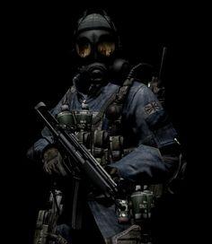 The Biohazard Gas Mask of Terror by LordHayabusa357